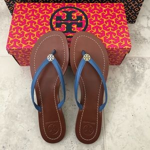 NEW!!  Tory Burch Terra Thong - Size 9